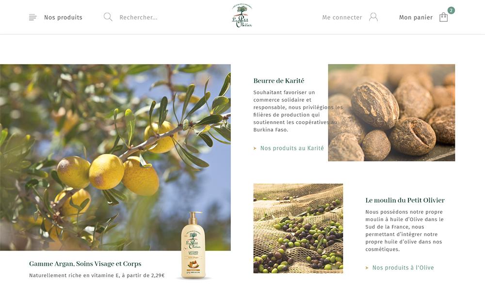 Content Le Petit olivier